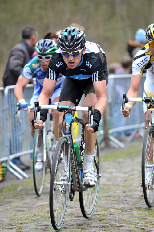 Geraint Thomas, Paris-Roubaix 2010