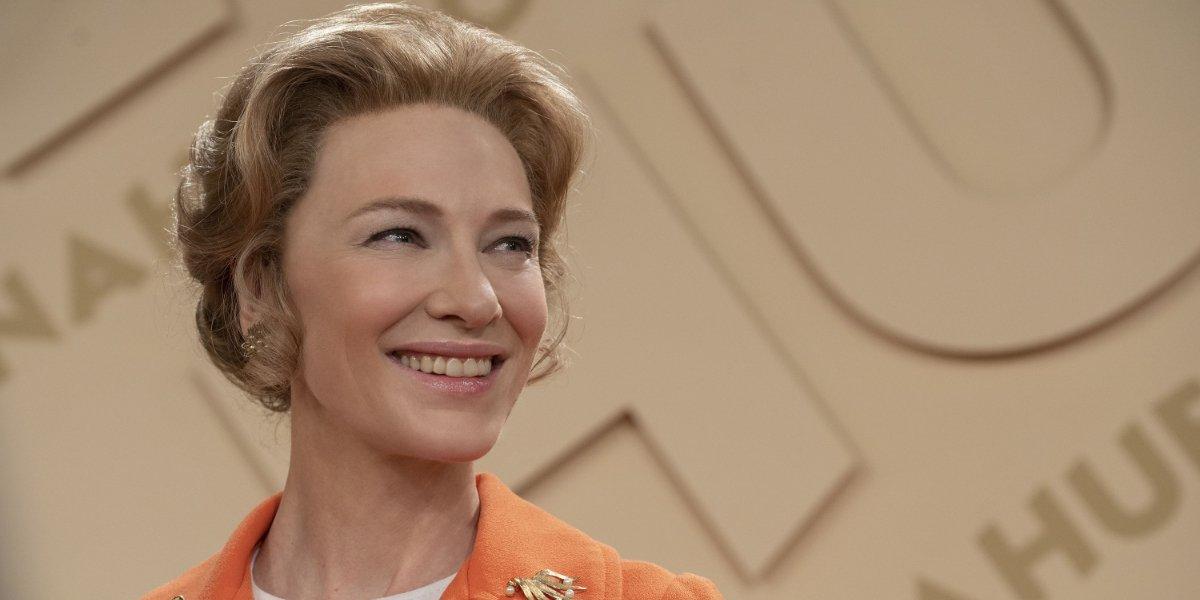Mrs. America Cate Blanchett smiles