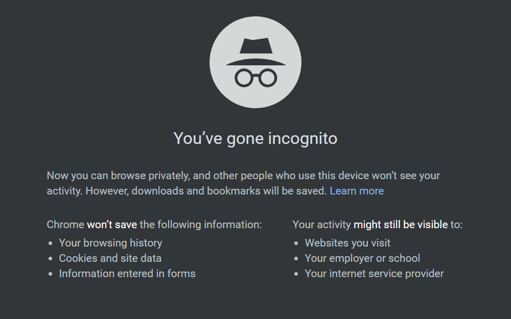 How to Use Incognito Windows in Chrome | Google Chrome Tips ...