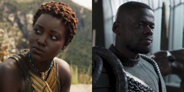 Nakia Black Panther lupita nyong'o daniel kaluuya W'kabi