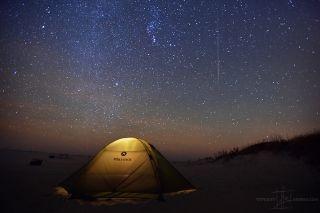 Taurid Meteors from Assateague National Seashore