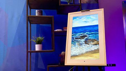 Lenovo Smart Frame at CES 2020