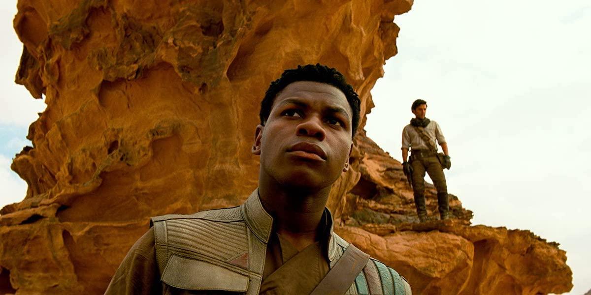 John Boyega and Oscar Isaac in Star Wars: Rise of Skywalker