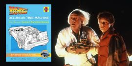 Enter To Win CinemaBlend's DeLorean Time Machine Doc Brown's Owners' Workshop Manual Giveaway