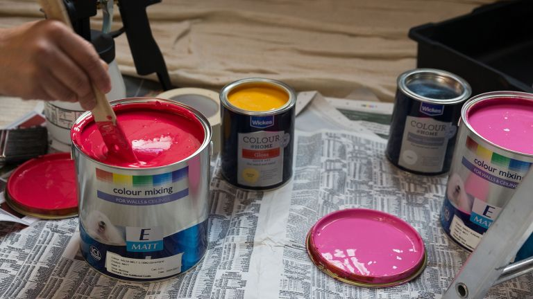 Brits are currently storing 139 million litres of paint