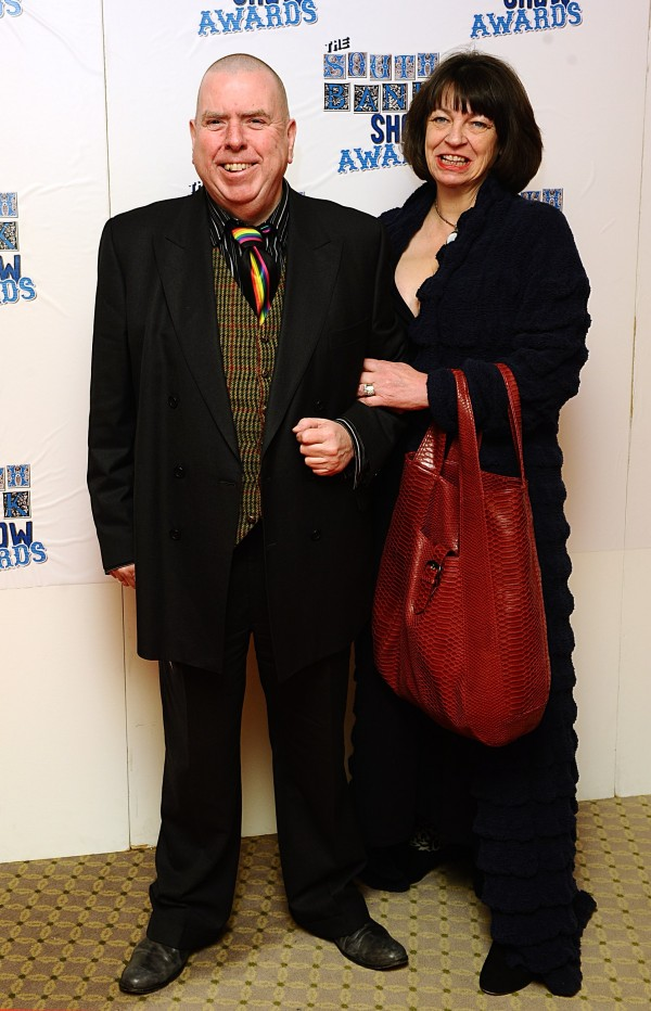 Timothy Spall and wife Shane