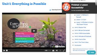 "screenshot 7 mindsets ""Everything is Possible"""