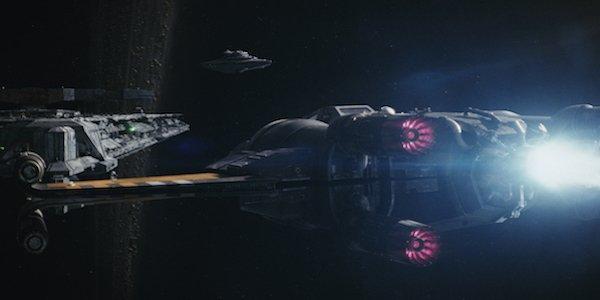 X-wing fighter in Star Wars: The Last Jedi