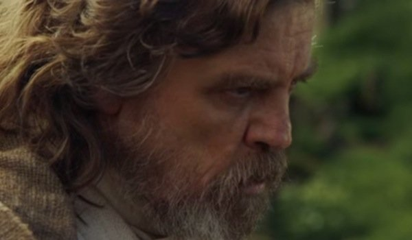 luke skywalker close up star wars: the force awakens