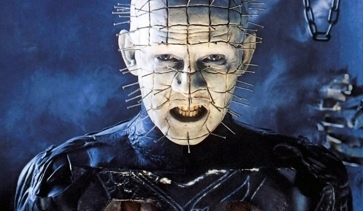Hellraiser Pinhead in his lair