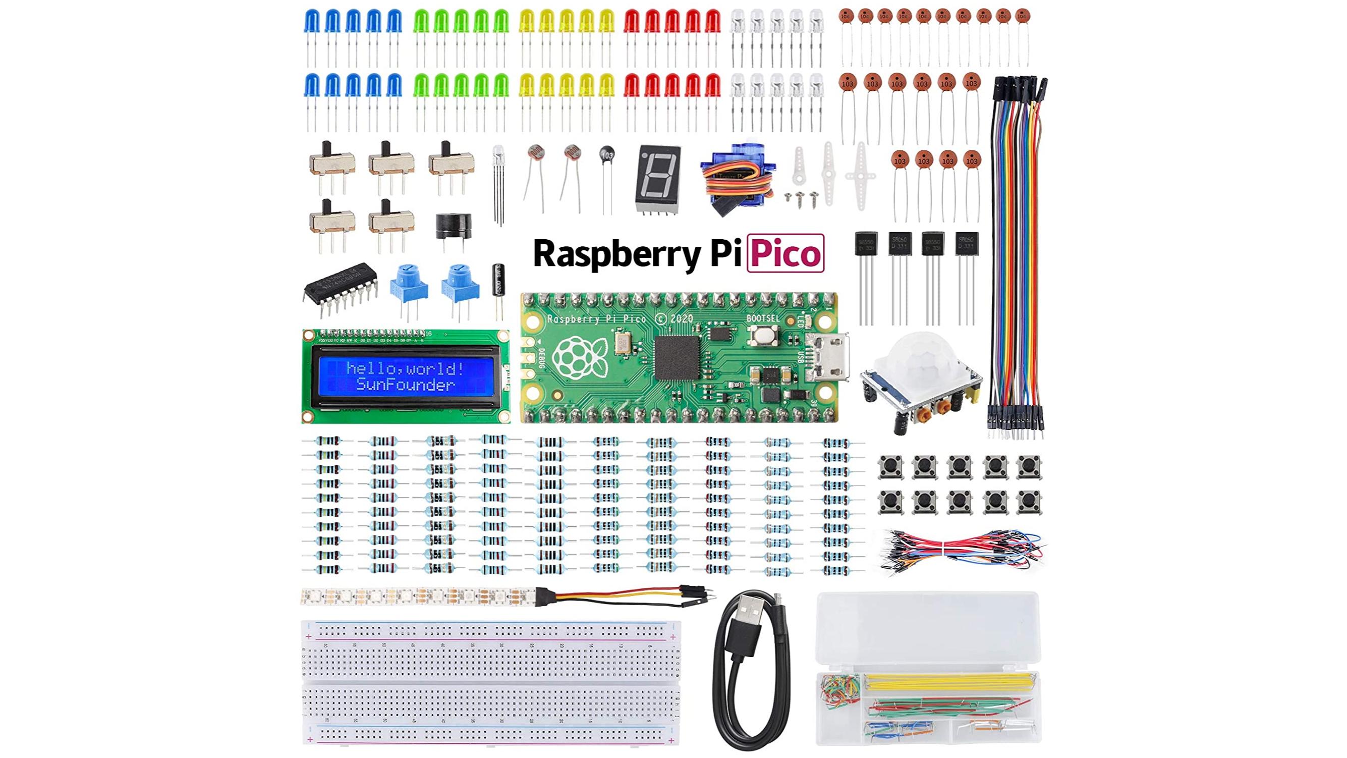 SunFounder Raspberry Pi Pico Starter Kit