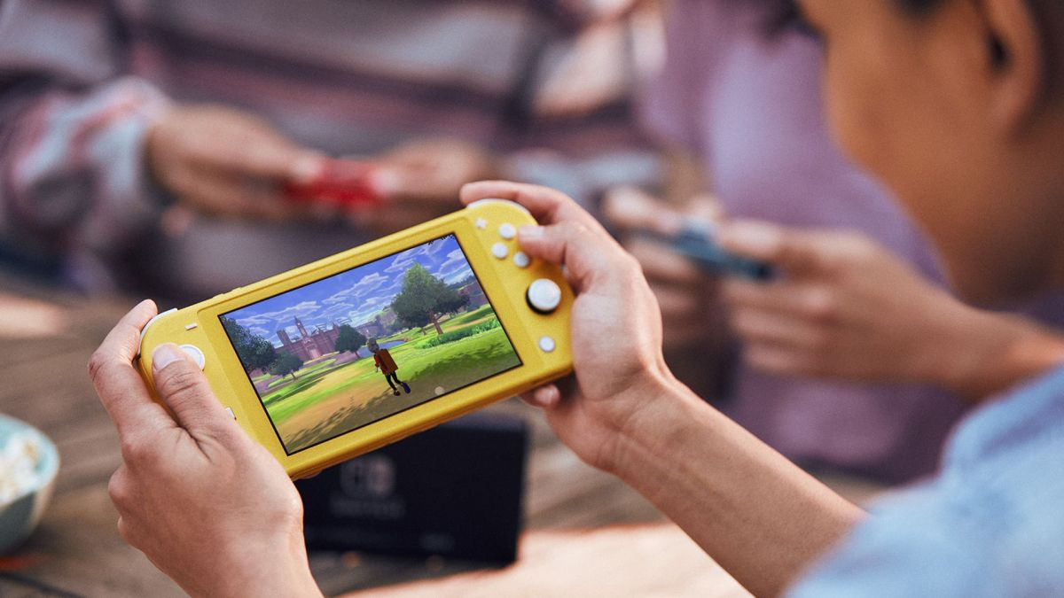 Nintendo Switch Lite is a $199 handheld-only console with a smaller screen, longer battery life