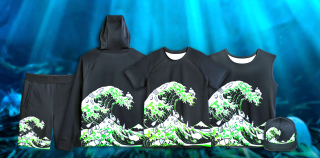 Razer's new clothing line is made of 88% recycled plastics and 0% RGB