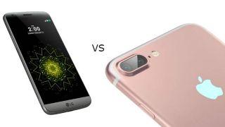 Apple Iphone 7 Plus Vs Lg G5 Techradar