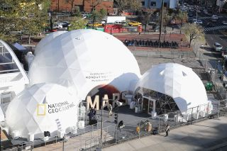 Nat Geo Mars Experiential Dome in NYC