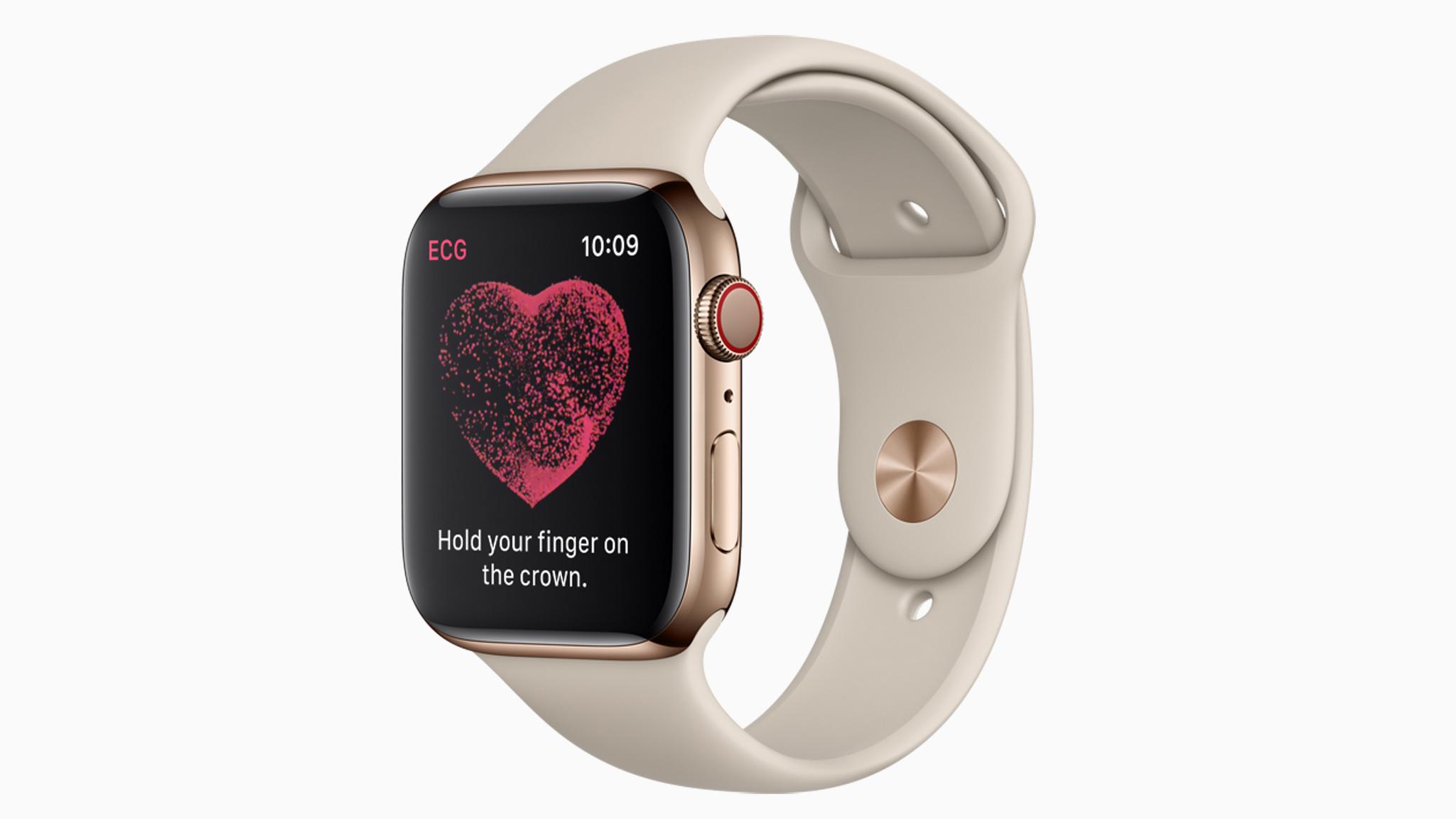 Apple Watch Series 4 gets ECG support