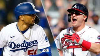 Mookie Betts and Joc Pederson will look to score early and often in the Dodgers vs Braves live stream