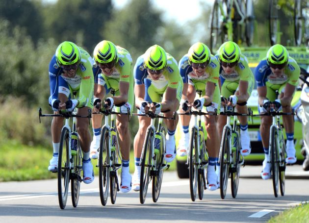 Liquigas-Cannondale, World Championships 2012, team time trial