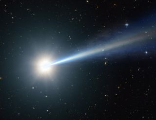 Artist's Impression of a Quasar