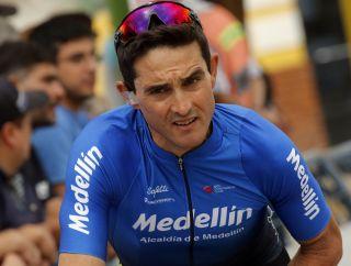 Oscar Sevilla at the Vuelta a San Juan
