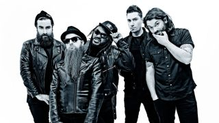 A promotional picture of Skindred