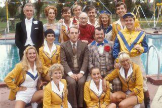 The original 'Hi-de-Hi!' cast.