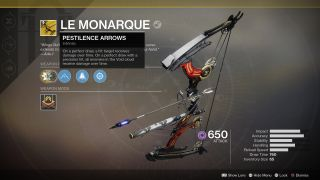 Surprise Destiny 2 Black Armory Just Added The Thorn Inspired