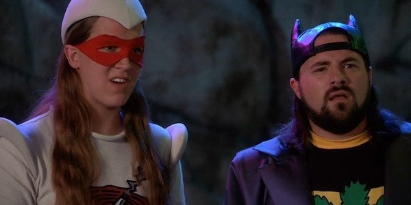 Jay and Silent Bob as Bluntman and Chronic
