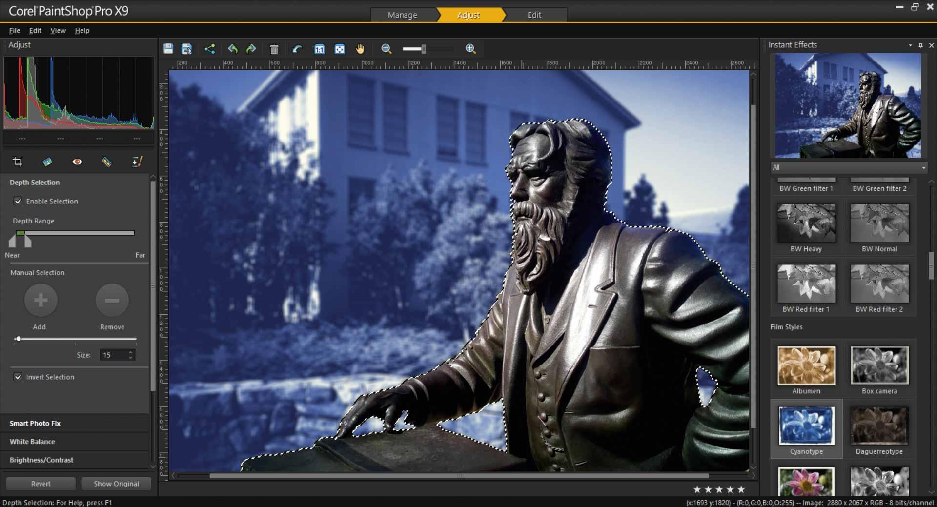 Paintshop Pro X9 Creative Bloq