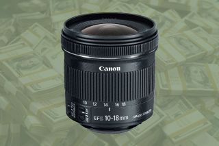 Save $100 on the Canon EF-S 10-18mm f/4.5-5.6 lens in this amazing deal!