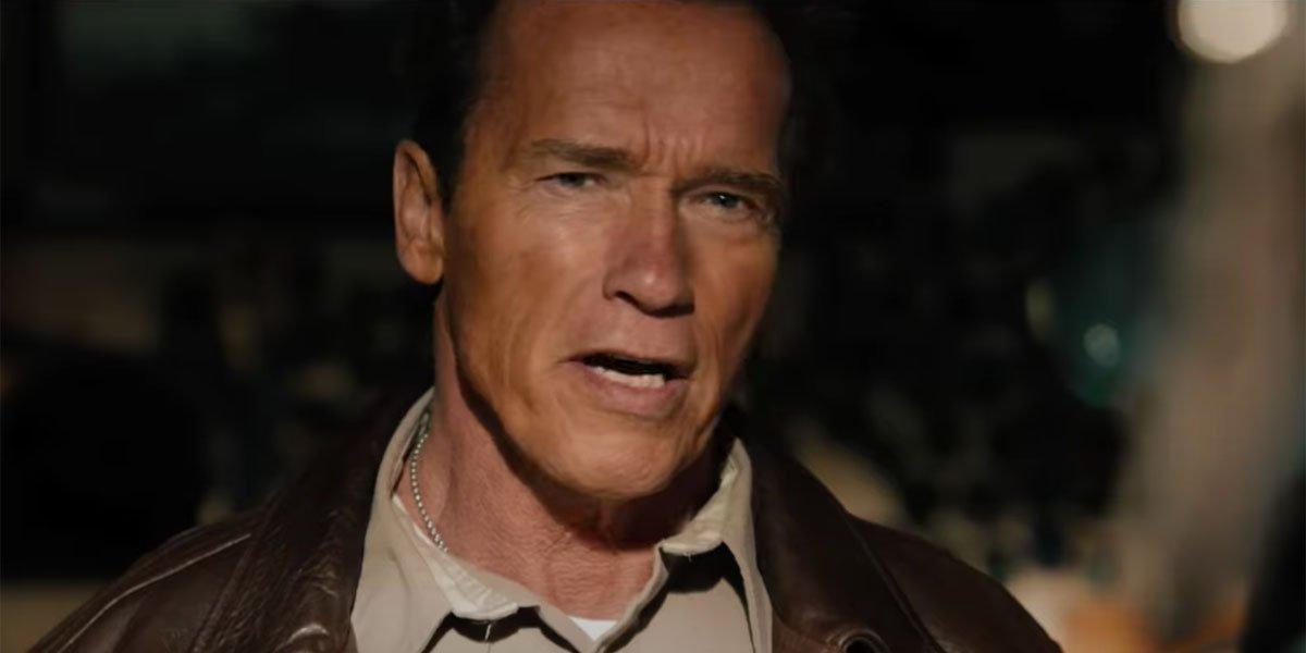Arnold Schwarzenegger in The Last Stand grandpa
