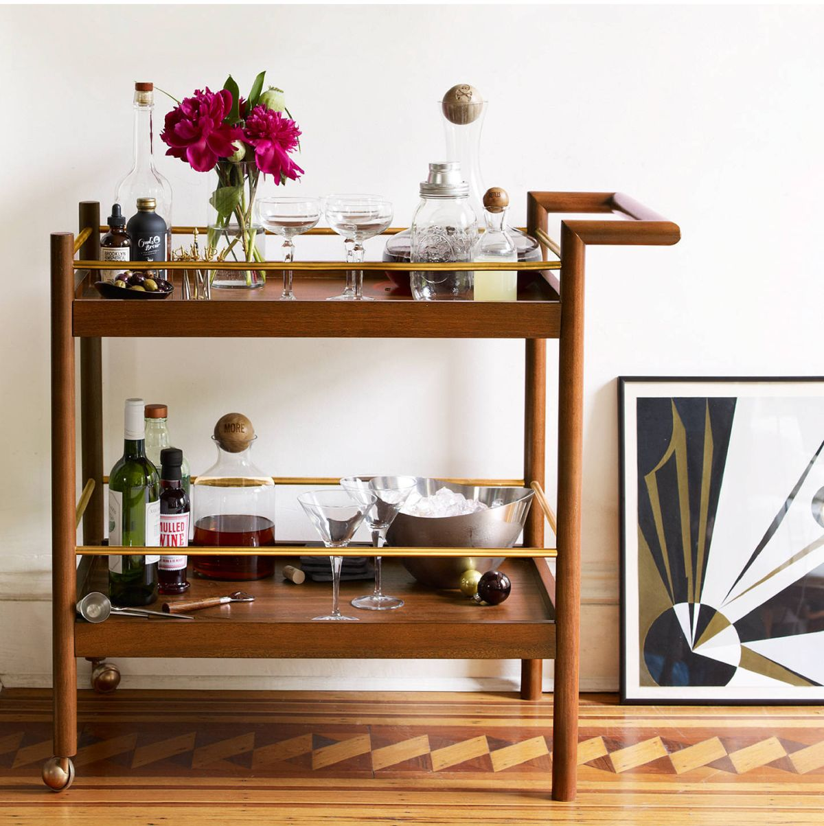 Bar Carts 11 Best Buys To Get The Party Started Real Homes