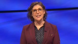 mayim bialik hosting a jeopardy episode