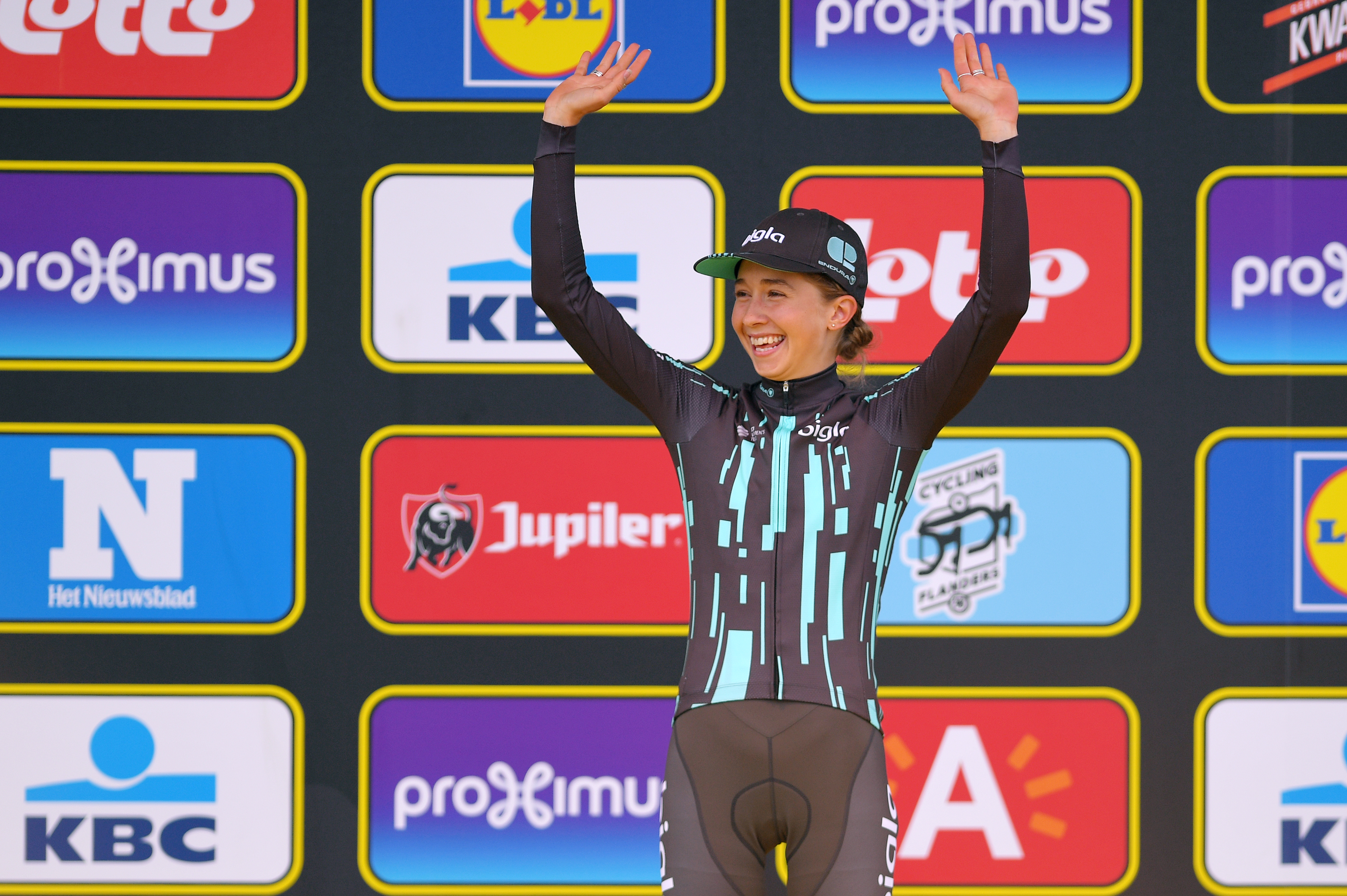 Cecilie Uttrup Ludwig gives hilarious post-race interview after finishing third in women's Tour of Flanders