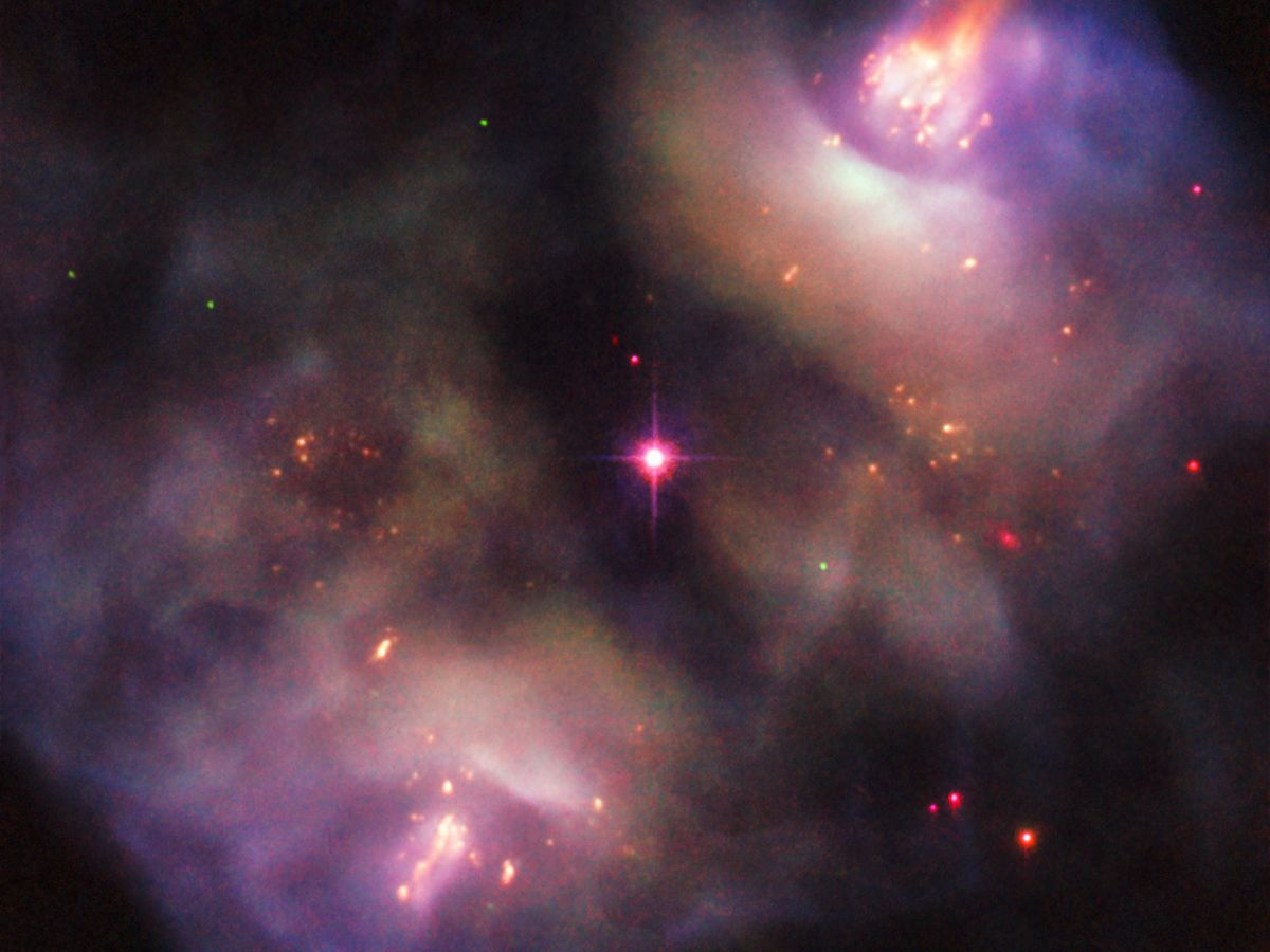 Dying Star S Colorful Demise Captured By Hubble Telescope Space