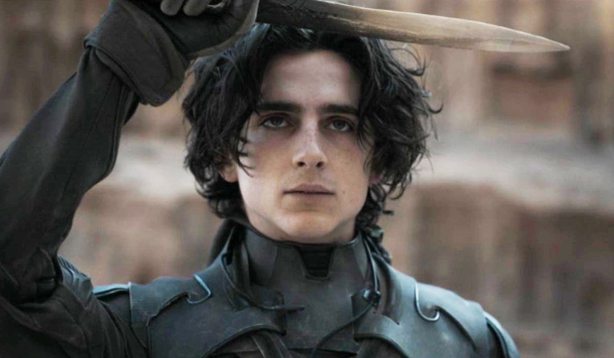 Timothee Chalamet as Paul Atriedes in Dune