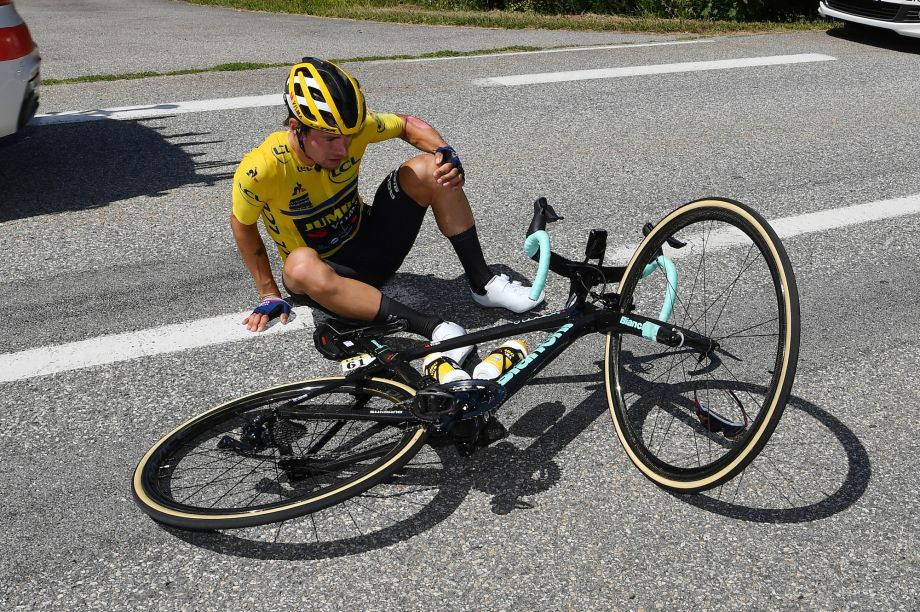 Primoz Roglic Still Questionable For Tour De France After Crash According To His Partner Cycling Weekly