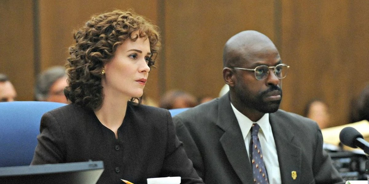 Sarah Paulson and Sterling K. Brown on American Crime Story: The People Vs. O.J. Simpson