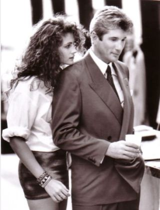a still of Julia Roberts and Richard Gere from Pretty Woman.