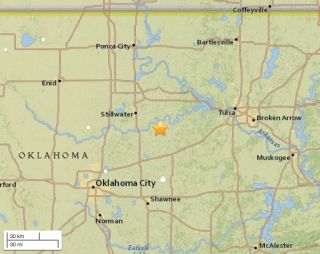 A 5.0-magnitude earthquake struck central Oklahoma on the evening of Nov. 6, 2016.