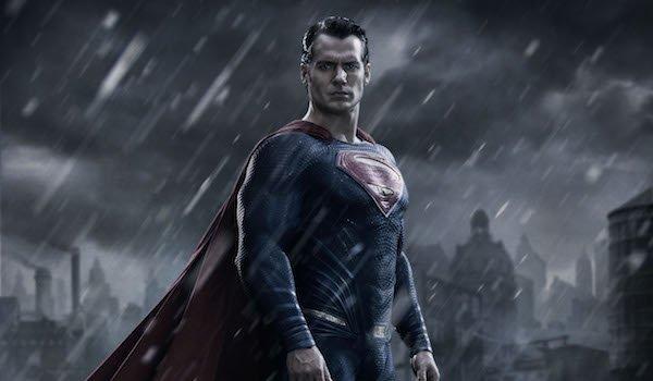 Superman in the rain