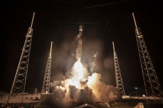 SpaceX Falcon 9 rocket launches Beresheet lunar lander