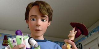 Andy, Buzz and Woody Toy Story 3