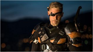 Deathstroke in Zack Snyder's Justice League