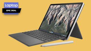HP Chromebook X2 with stylus pen