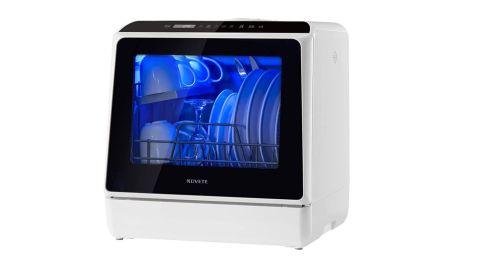 NOVETE TDQR01 countertop dishwasher review