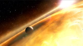 Artist's Concept of Alien Planet Fomalhaut b