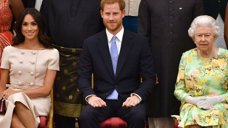 Prince Harry the Queen Meghan Markle