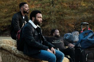 Lakeith Stanfield, Donald Glover, and Brian Tyree Henry, Atlanta