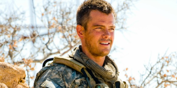 Josh Duhamel as a soldier